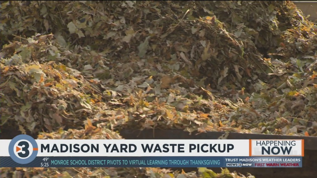 Madison Yard Waste Pickup Continues