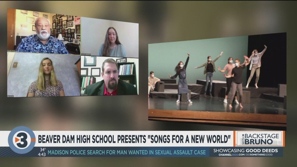 Backstage With Bruno: Beaver Dam High School Presents 'songs For A New World'