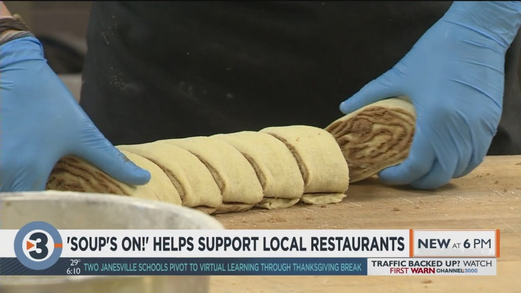 'soup's On!' Helps Support Local Restaurants