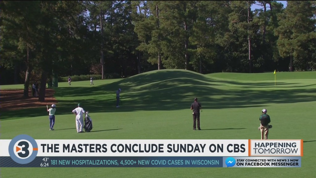 The Masters Conclude Sunday On Cbs