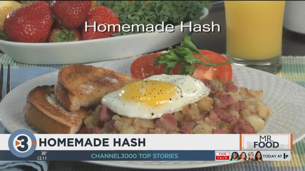 Mr. Food: Homemade Hash