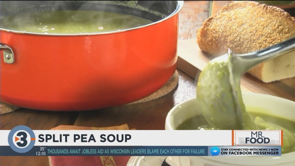 Mr. Food Makes Split Pea Soup