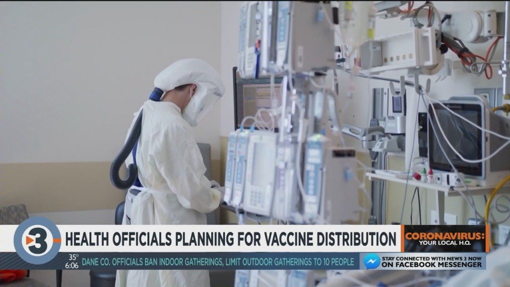 Health Officials Planning For Vaccine Distribution