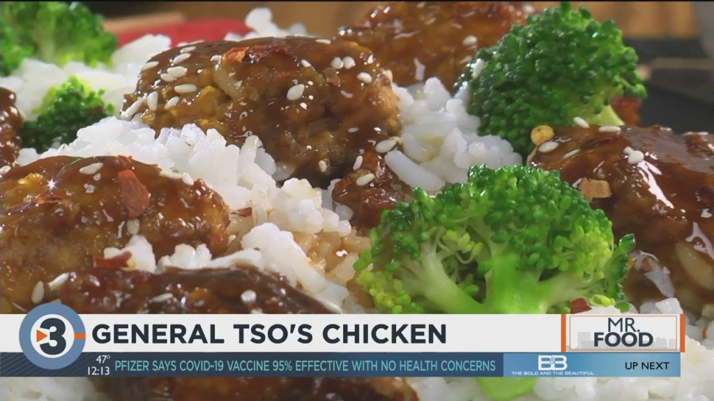 Mr. Food: General Tso's Chicken