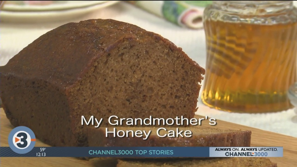 Mr. Food: Grandmother's Honey Cake