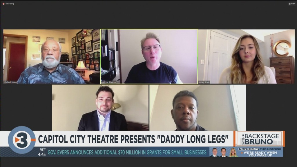 Backstage With Bruno: Capitol City Theater Presents 'daddy Long Legs'