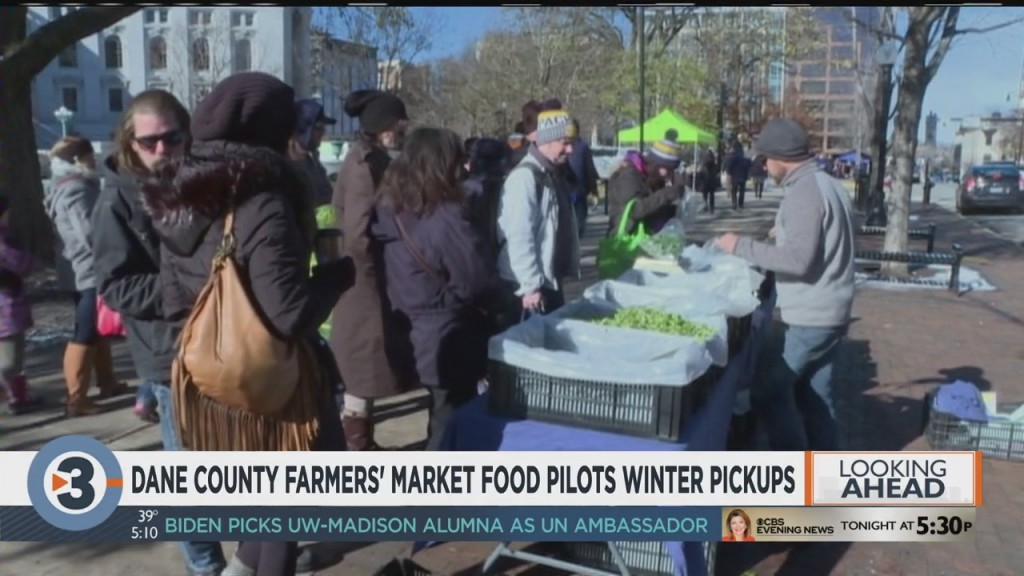 Dane County Farmers' Market To Host Food Pickups In December
