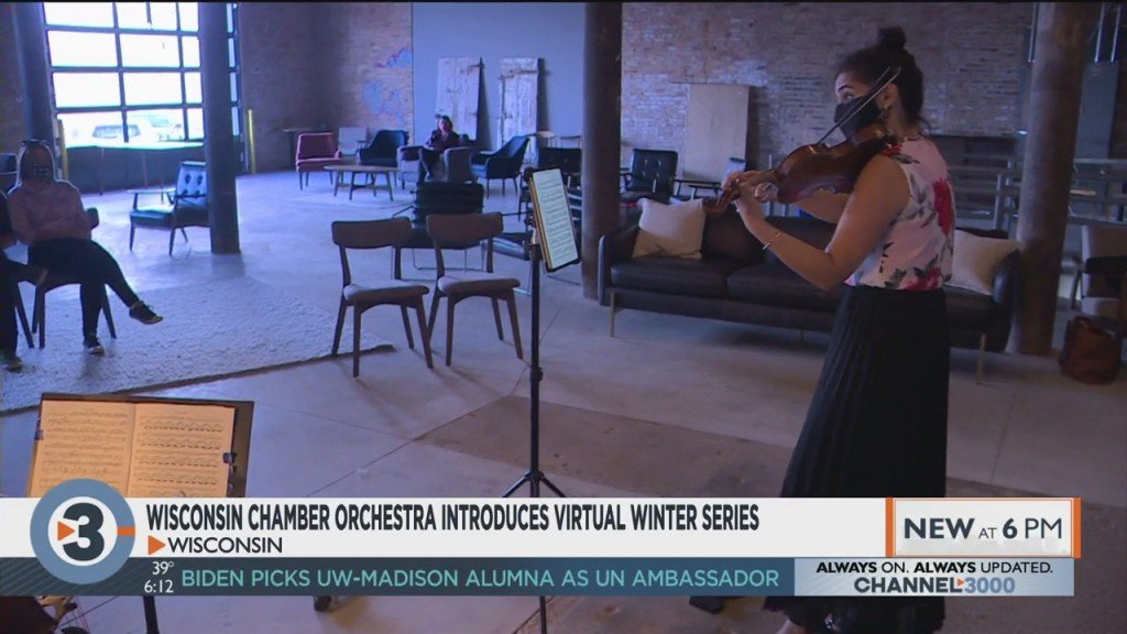 Wisconsin Chamber Orchestra Introduces Virtual Winter Series