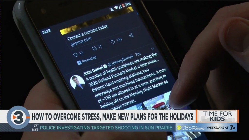 How To Overcome Stress, Make New Plans For The Holidays