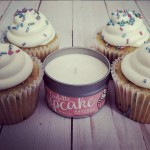 Cupcakes and cupcake candle