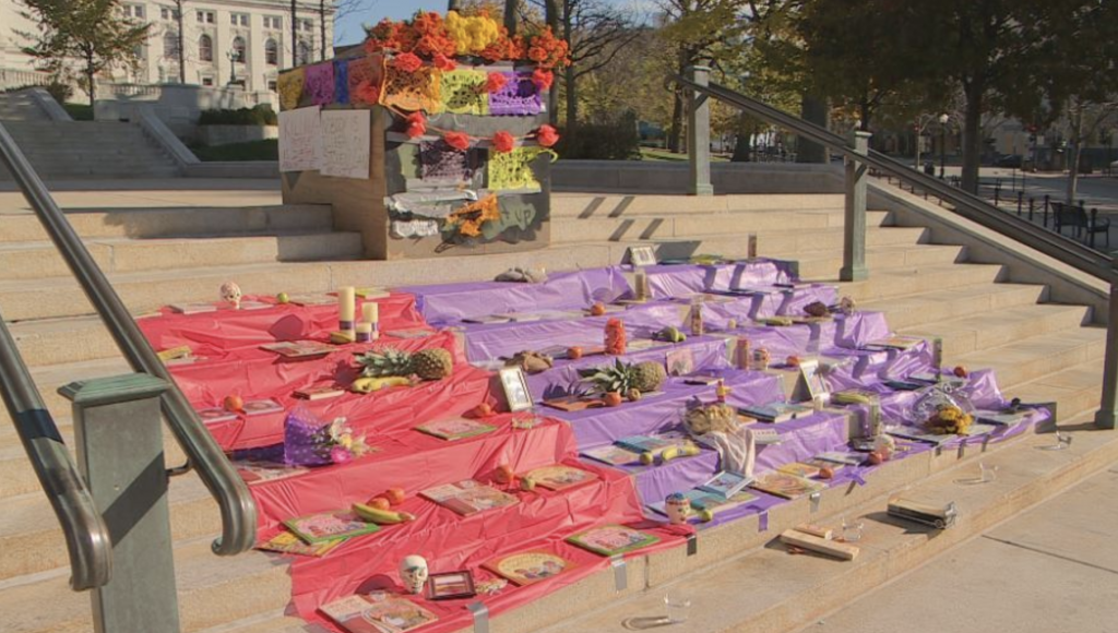 Memorial for immigrants and people of color