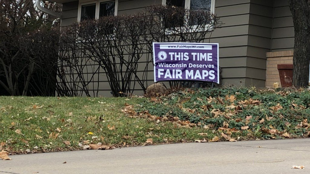 Fair Maps Sign
