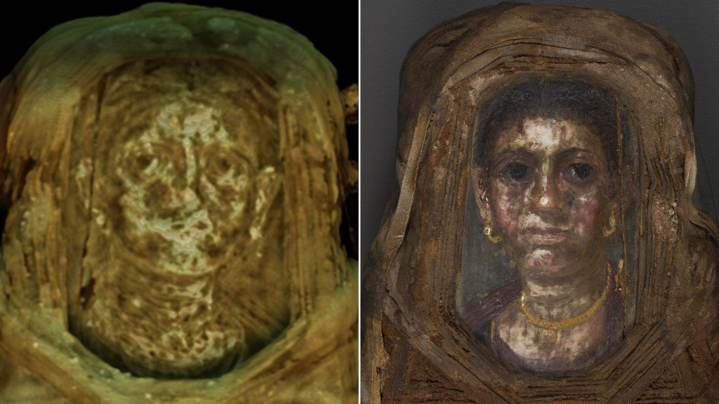 New X-ray technique reveals clues about ancient 1,900-year-old mummy