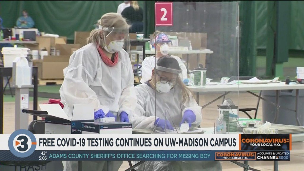 Free Covid 19 Testing Continues On Uw Madison Campus