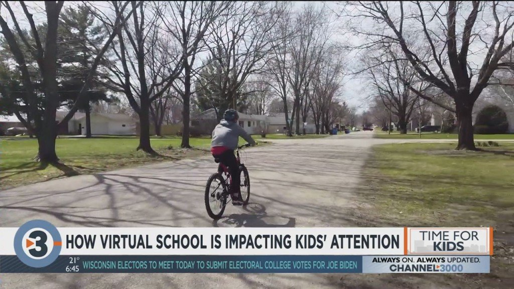 How Virtual School Is Impacting Kids' Attention