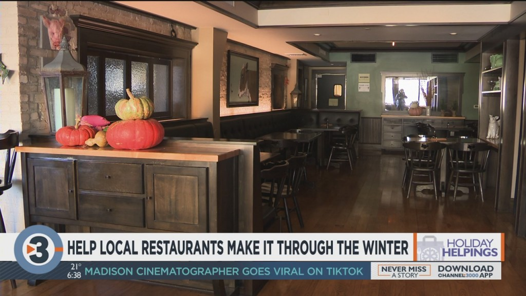 Help Local Restaurants Make It Through The Winter