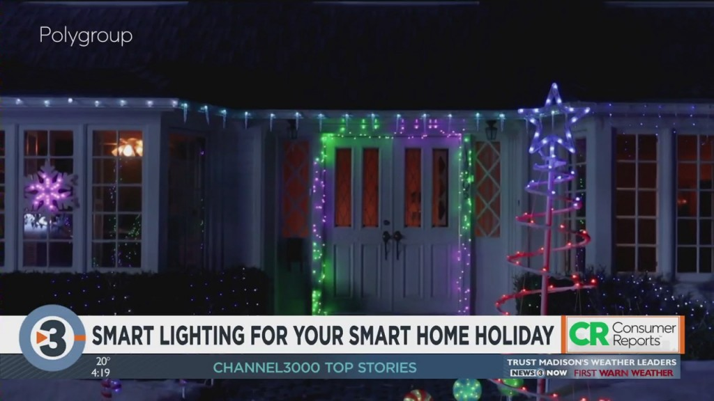 Consumer Reports: Smart Lighting For Your Smart Home Holiday