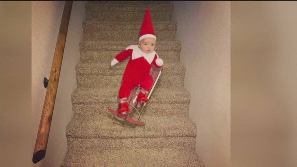 Elf On The Shelf Visits Highland