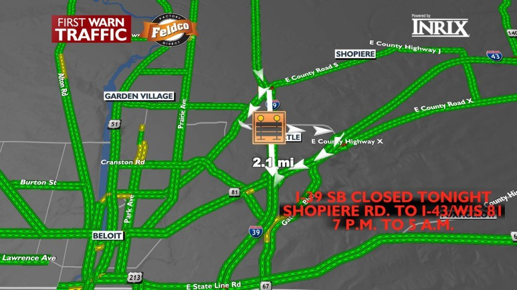 Beloit Interstate Closure