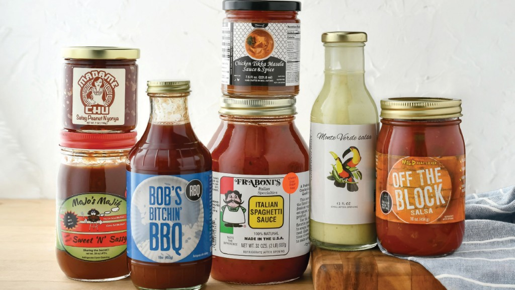seven sauces created locally