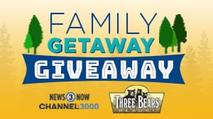 Three Bears Resort Look Who's 3 Getaway Giveaway 300x168 12 2020