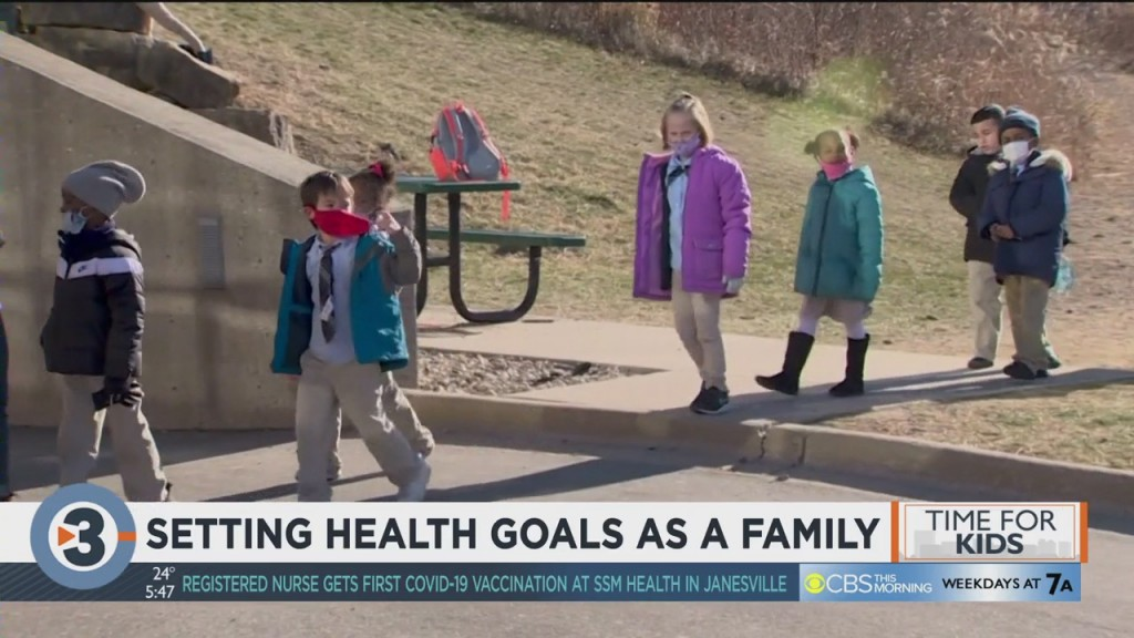 Setting Health Goals As A Family