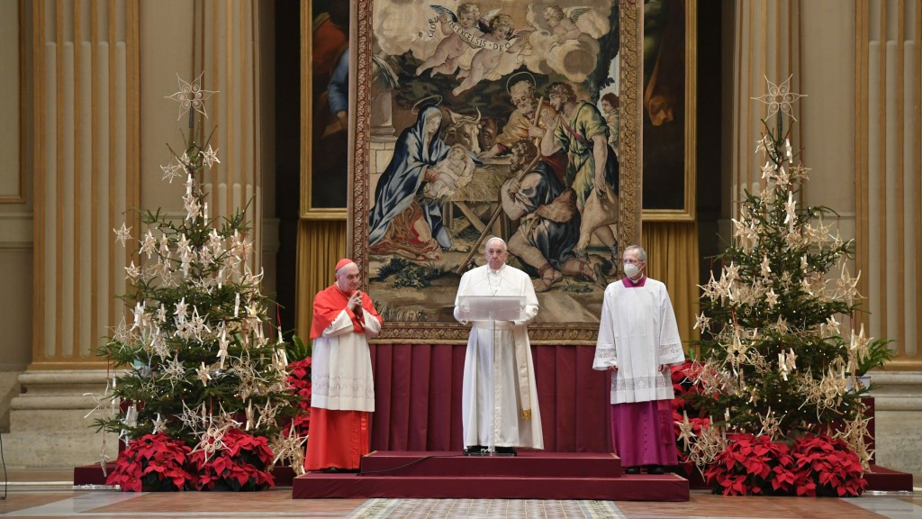 Pope Christmas Message