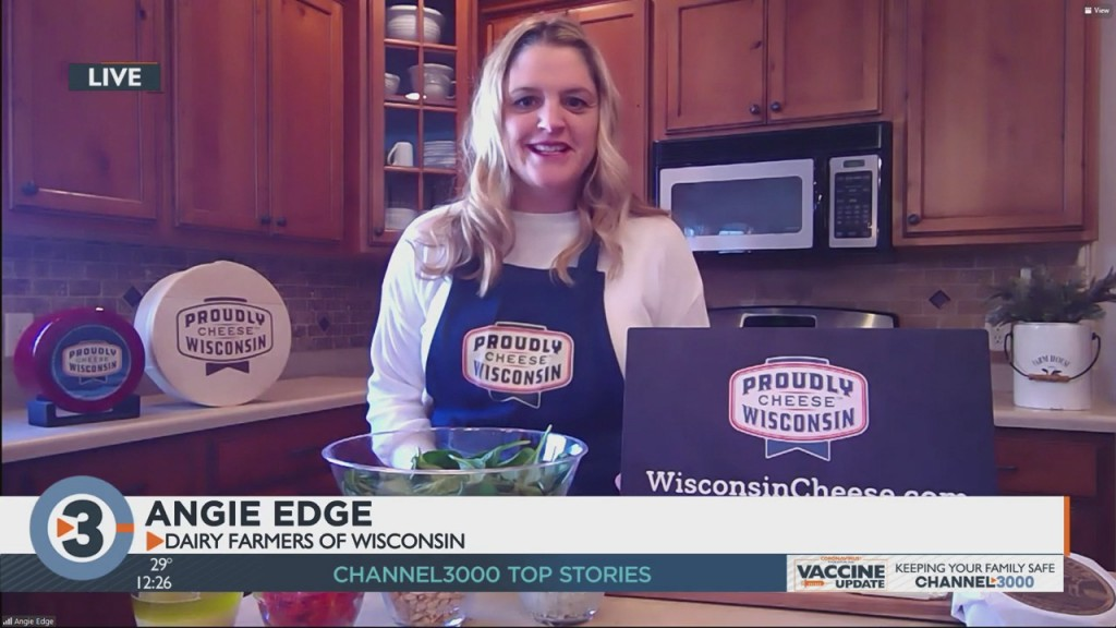 Angie Edge Shares Cheese Recipes For The New Year