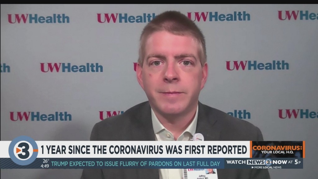 1 Year Since The Coronavirus Was First Reported