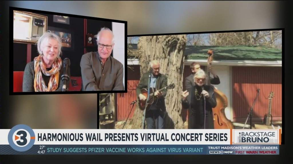 Backstage With Bruno: Harmonious Wail Presents Virtual Concert Series