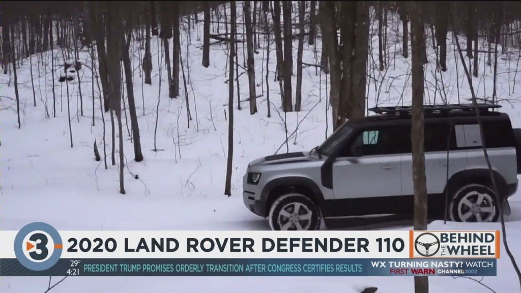 Behind The Wheel: 2020 Land Rover Defender 110