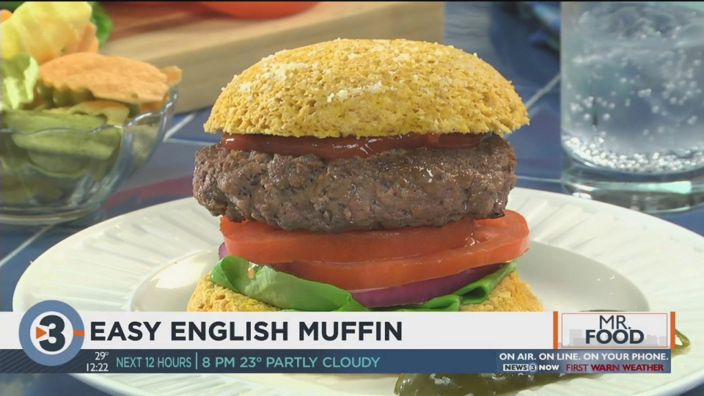 Mr. Food: Easy English Muffin