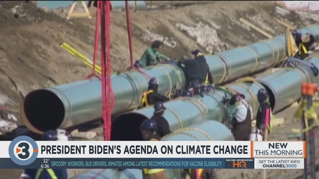A Closer Look At President Biden's Agenda On Climate Change