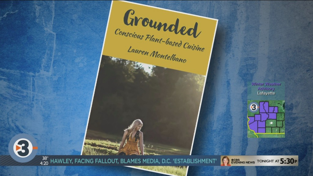 New Vegan Cookbook: 'grounded' Conscious Plant Based Cuisine