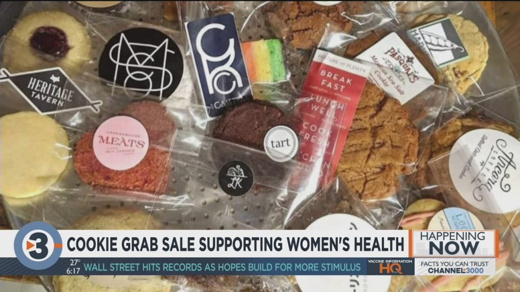Cookie Grab Sale Supporting Women's Health