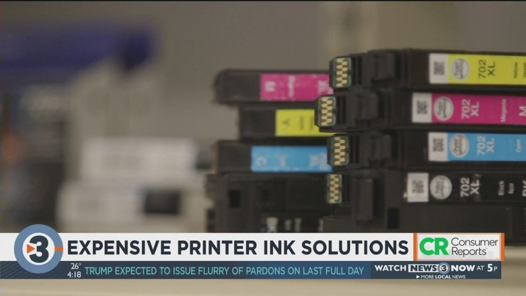 Consumer Reports: Expensive Printer Ink Solutions