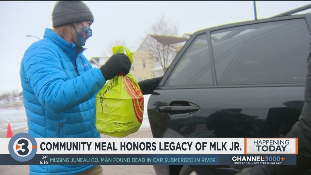Community Meal Honors Legacy Of Martin Luther King Jr.