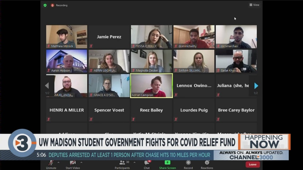 Uw Madison Student Government Fights For Covid Relief Fund