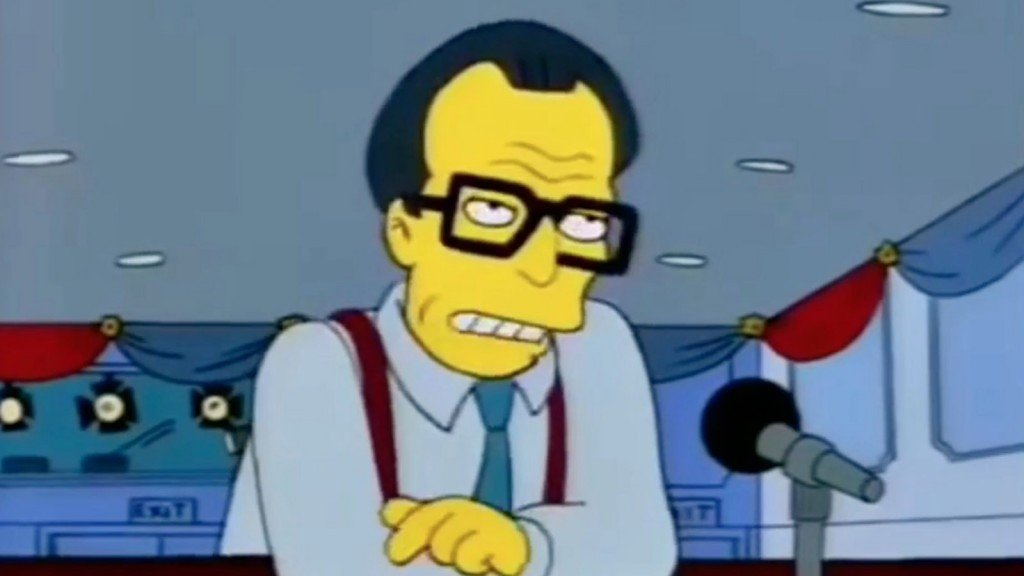 The Simpsons Larry King