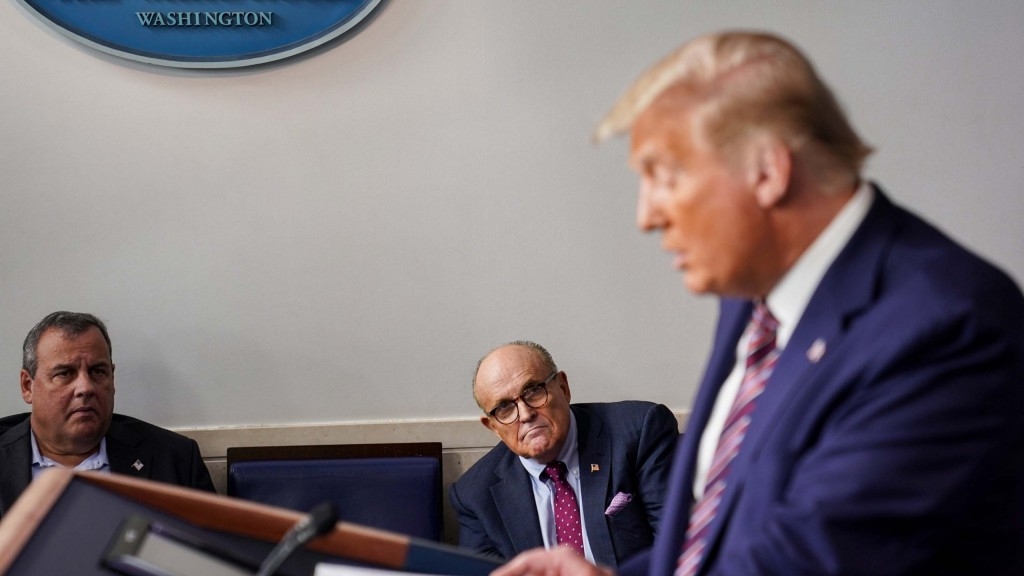 President Trump Holds A News Conference In White House Briefing Room