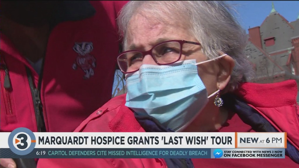 Marquardt Hospice Grants 'last Wish' Tour