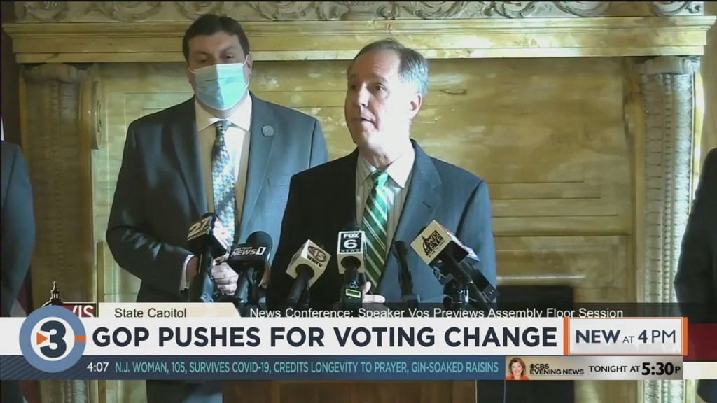 Gop Pushes For Voting Change