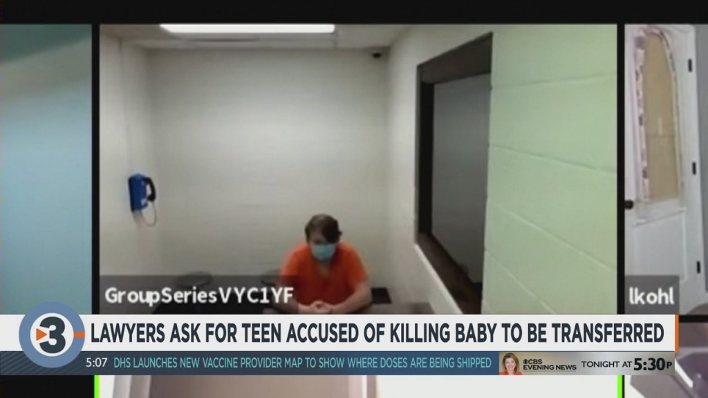 Lawyers Ask For Teen Accused Of Killing Baby To Be Transferred