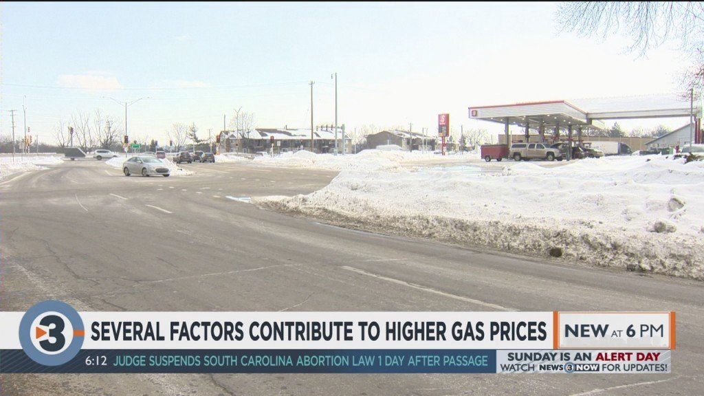 Several Factors Contribute To Higher Gas Prices