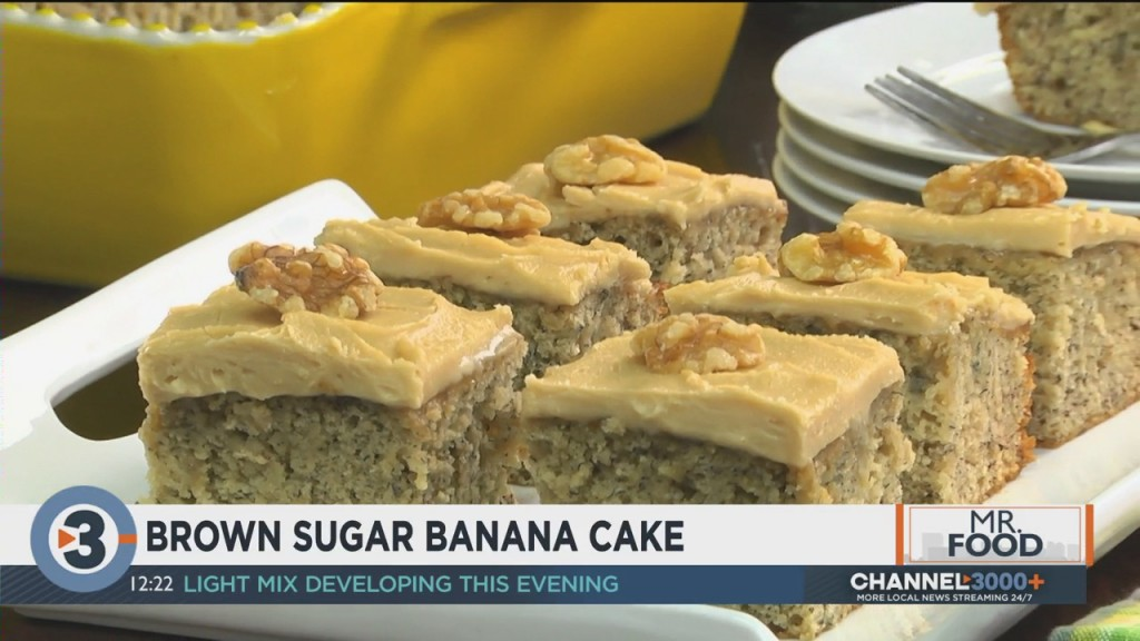 Mr. Food: Brown Sugar Banana Cake