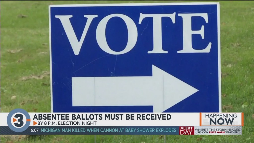Wec Reminds Those Voting With Absentee Ballot To Make Plan To Return It