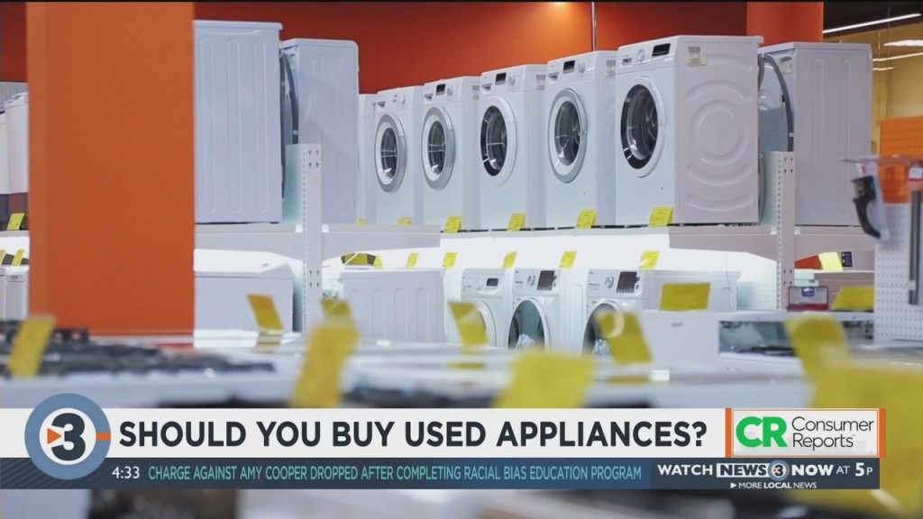 Consumer Reports: Should You Buy Used Appliances?