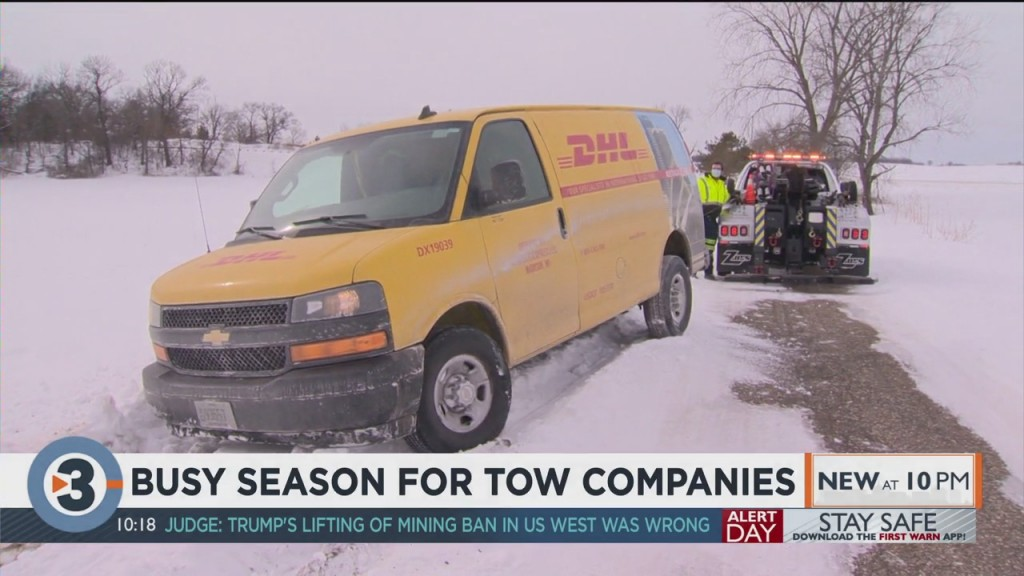 Busy Season For Tow Companies