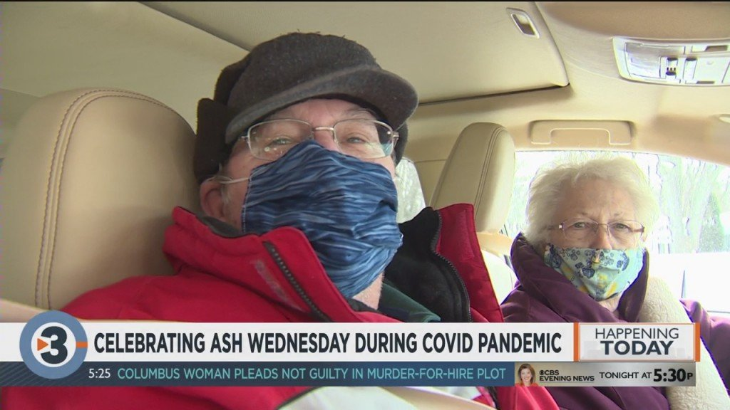 Celebrating Ash Wednesday During Covid Pandemic