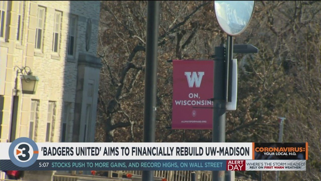 'badgers United' Aims To Financially Rebuild Uw Madison
